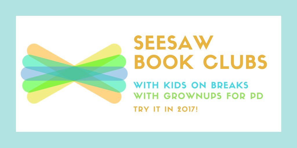 Seesaw Book Clubs (With images) Book club books, Seesaw
