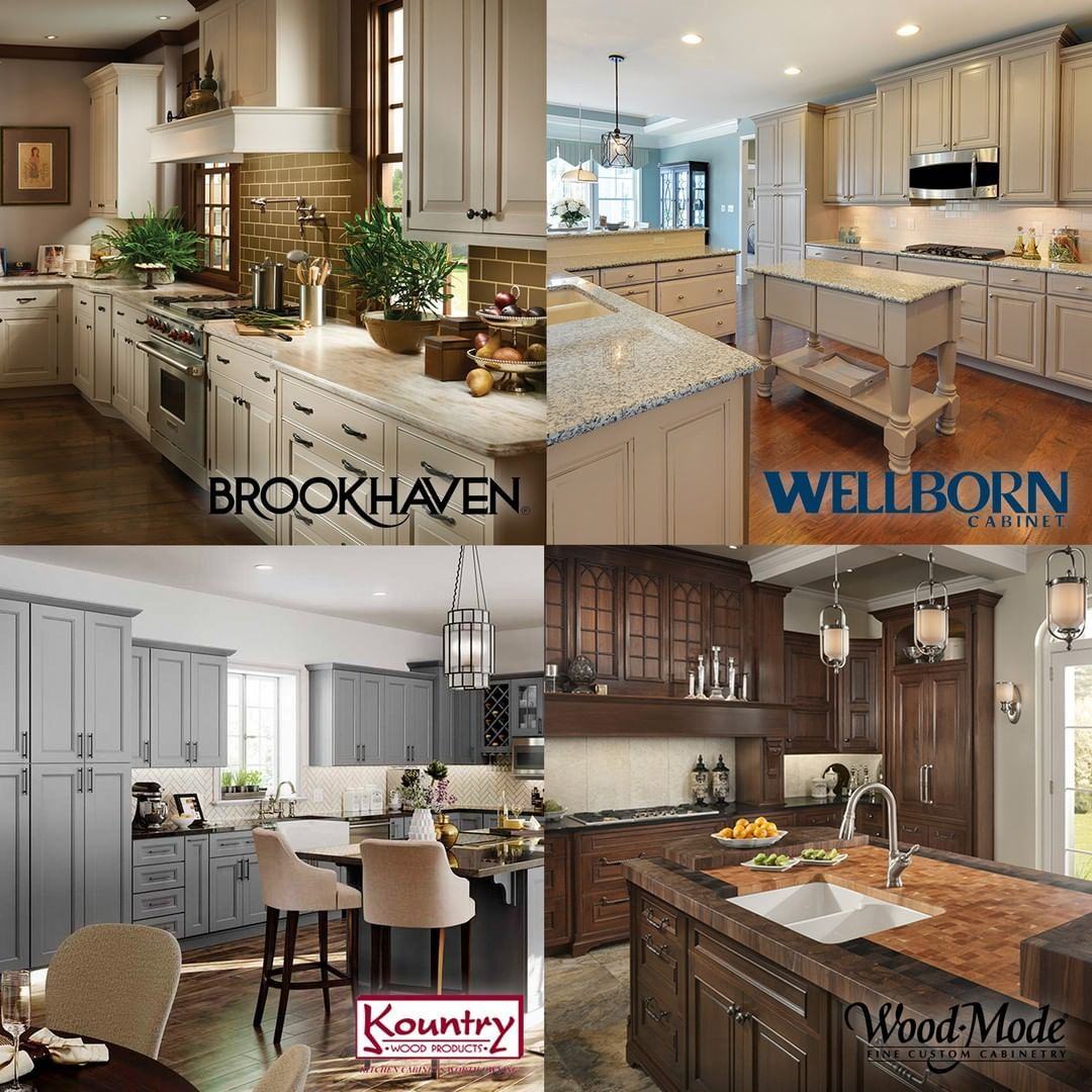 All Of Our Stock And Custom Cabinetry Is American Made By Well Known Manufacture Kitchencoun Diy Kitchen Renovation Kitchen Remodel Small Diy Kitchen Remodel