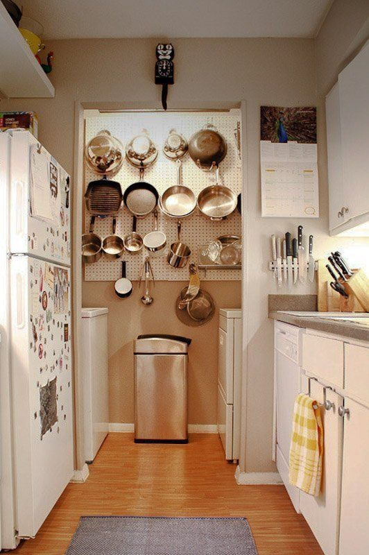 Create A Kitchen Command Center Use The Walls Apartment Home Kitchens