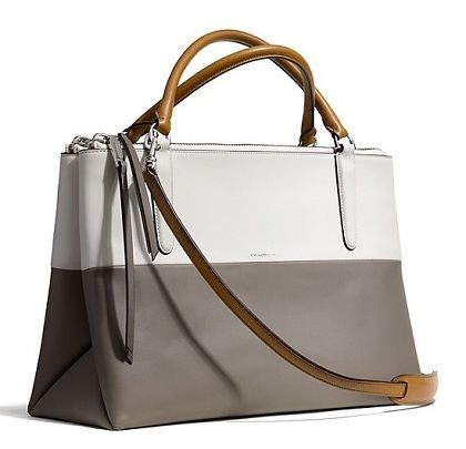 coach retro colorblock leather borough bag bag collection rh pinterest com