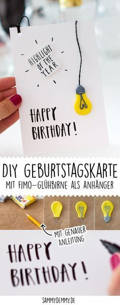 Photo of Make birthday presents yourself: Three DIY ideas • www.sam …