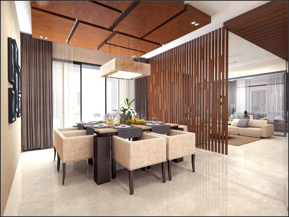 House Interiors Modern Dining Room By Vinyaasa Architecture Design Modern Homify House Ceiling Design Ceiling Design Living Room Ceiling Design Modern