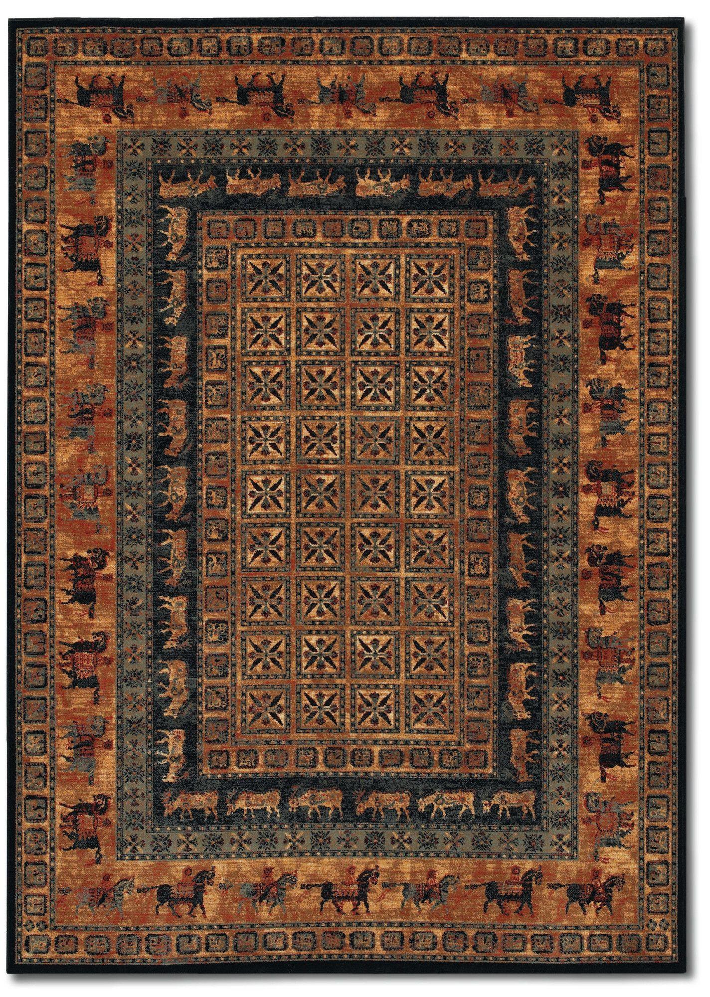 Faska Oriental Wool Brown Area Rug Rugs On Carpet Area Rugs Modern Area Rugs