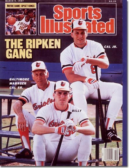 Kc S Blog Buzz Sports Illustrated Covers Cal Ripken Jr Sports Illustrated