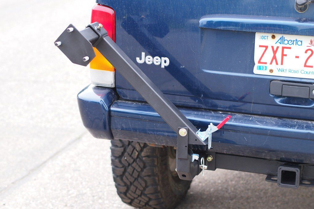 Hitch Gate Spare Tire Carrier Expedition Portal Jeep Xj Jeep