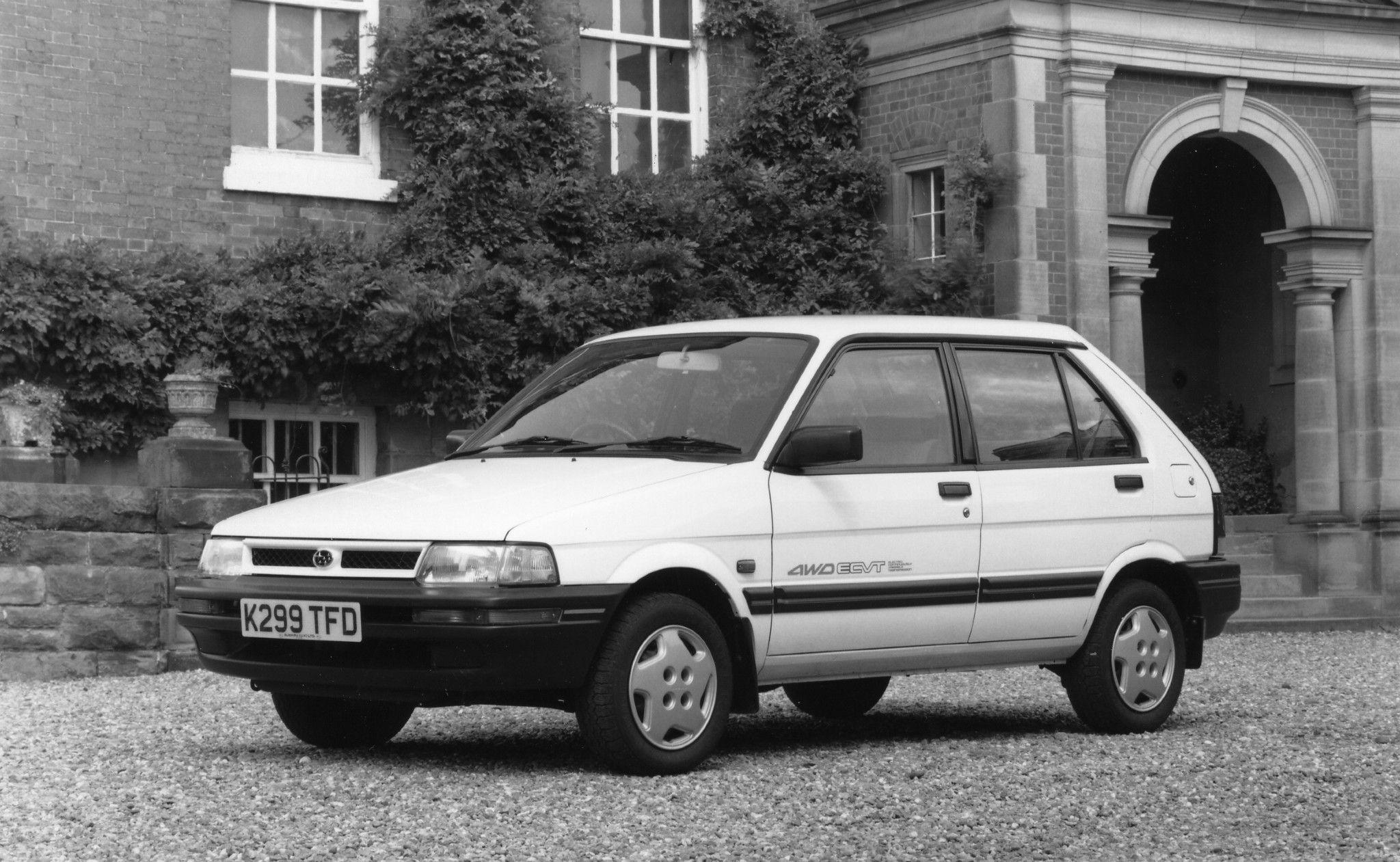 Subaru Justy 5 Door Uk Spec Ka 1988 94 In 2020 Subaru Justy Subaru Subaru Cars