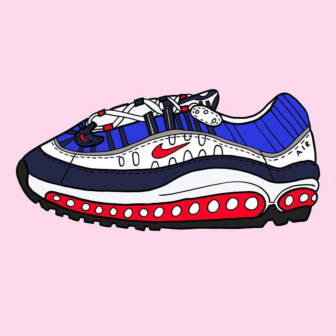 7685e34ff06 I cannot wait for @nike Air max 98 Gundam to be reissued next year ...