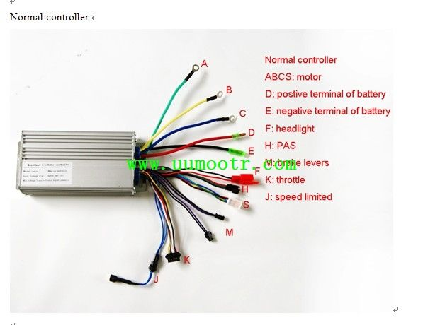 Electric Bike Controller Wiring Diagram In Addition Electric Motor Wire Connectors Additionally Electric Bicyc Electric Bicycle Electric Bike Motorized Bicycle