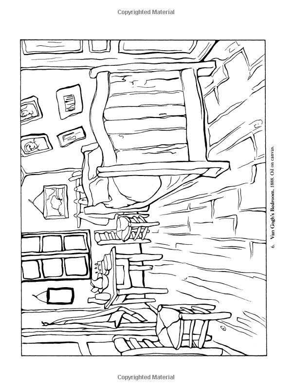 Color Your Own Van Gogh Paintings (Dover Art Coloring Book): Vincent Van  Gogh: 9780486405704: Amazon.com: Boo… Van Gogh Coloring, Van Gogh Art, Van  Gogh Paintings