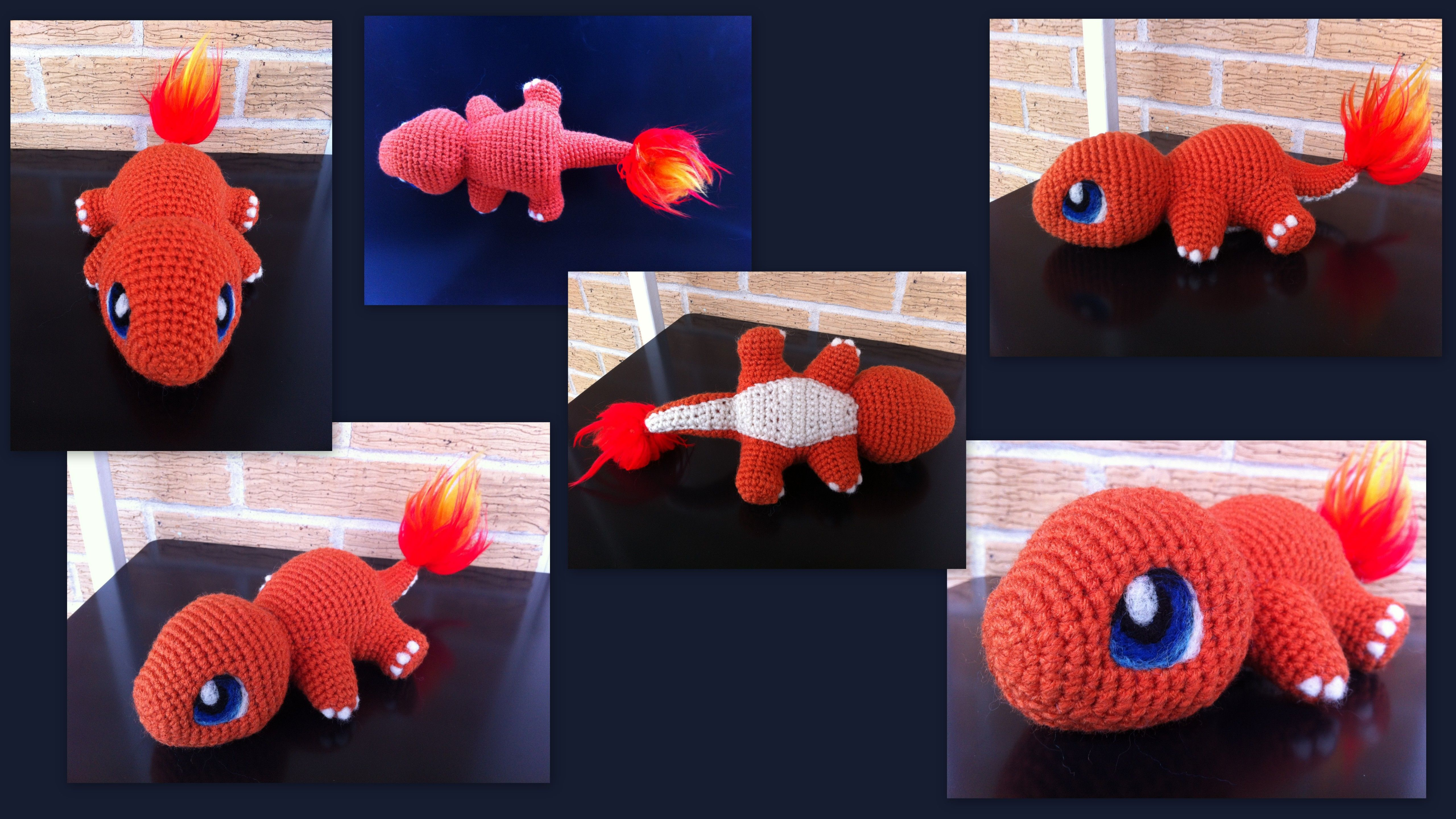 Baby Charmander (with pattern) by aphid777.deviantart.com on ...