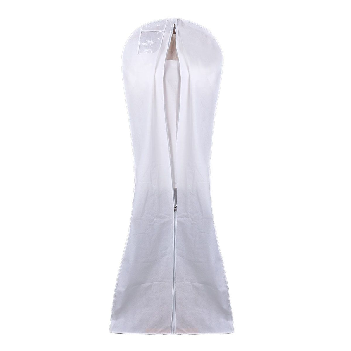 Extra Large Wedding Dress Cover Gown Garment Clothes Storage Zip Bag Dustproof
