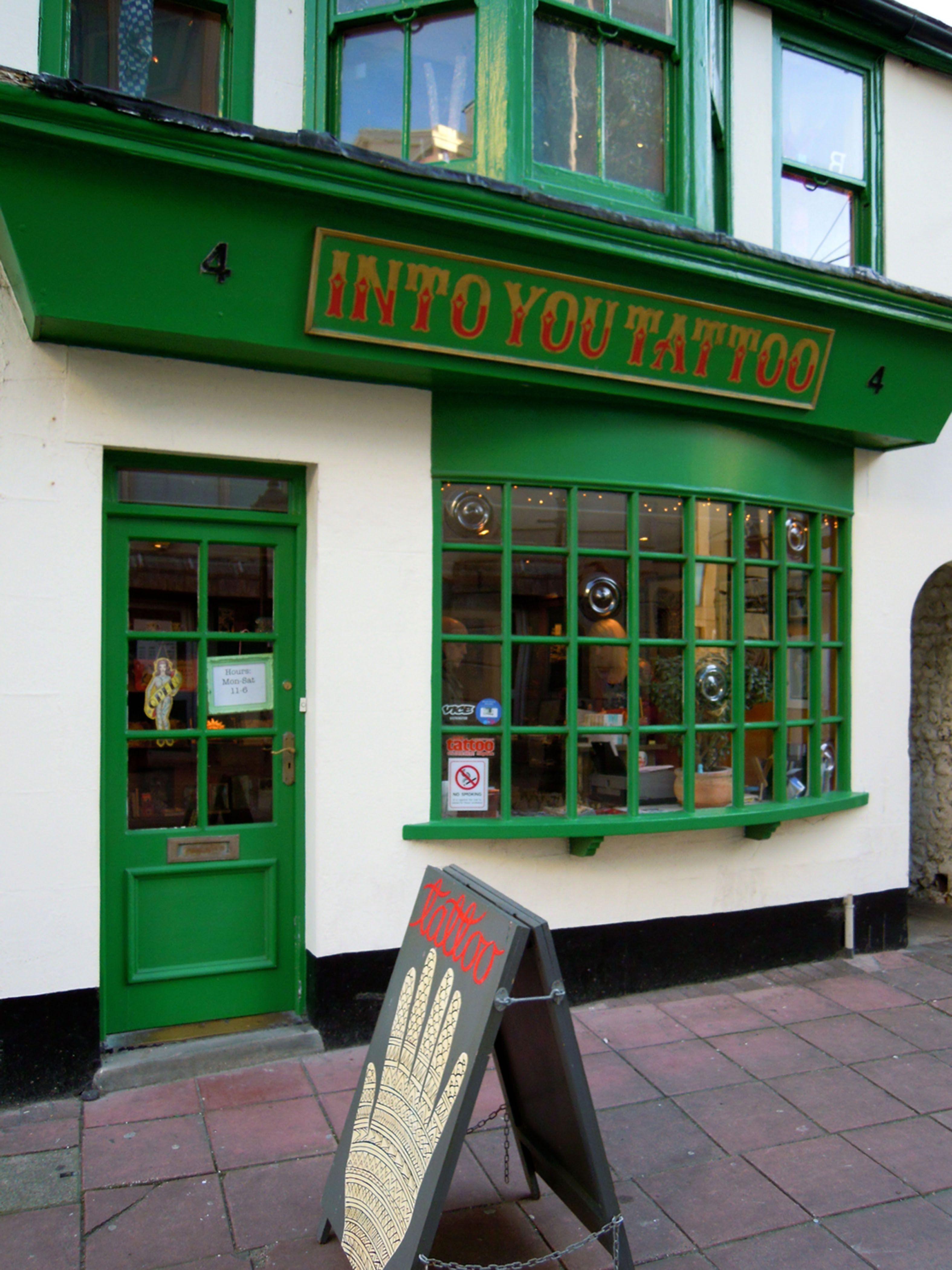 Into You Tattoo Shop Brighton