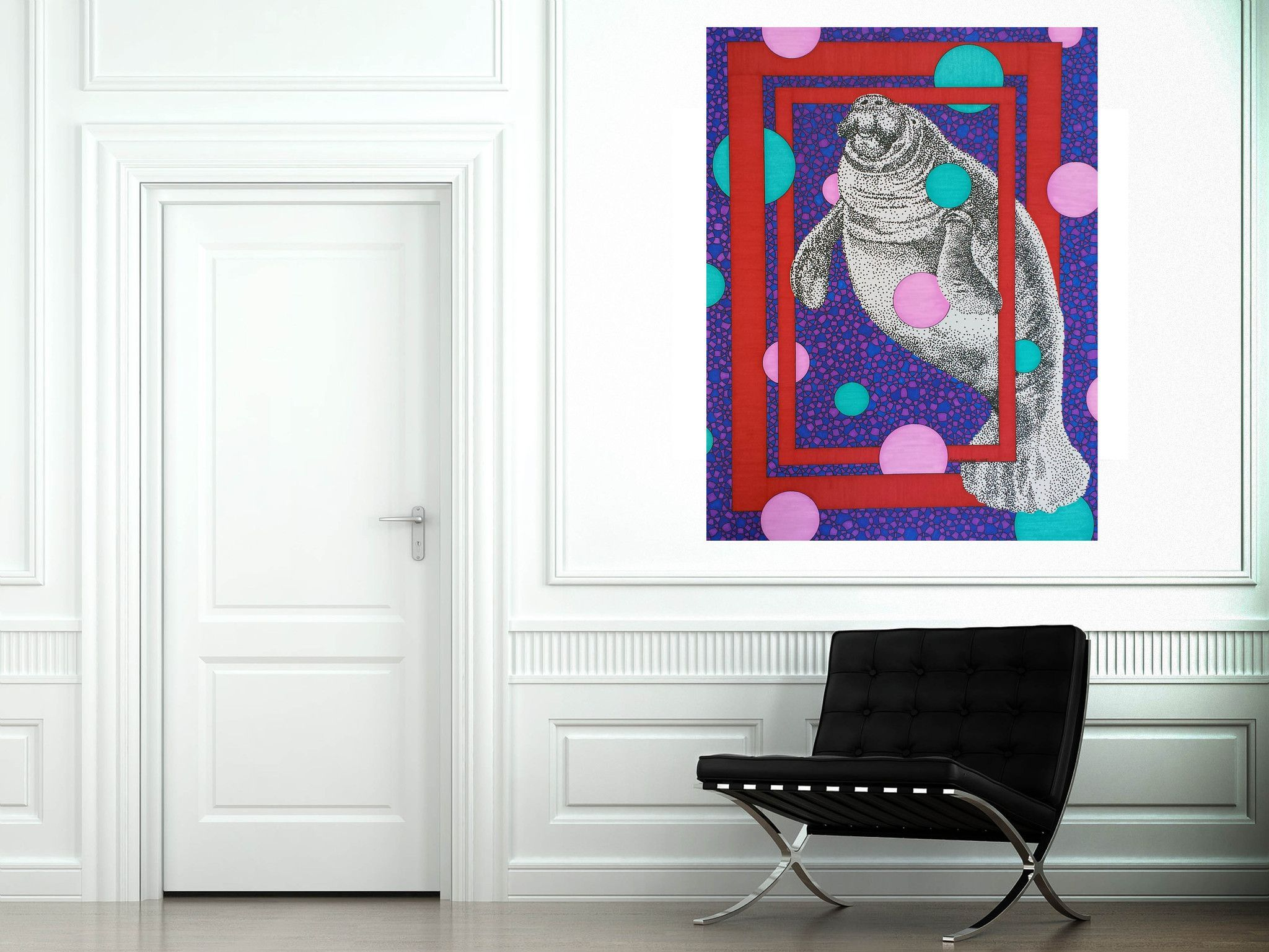 Manatee large canvas reproduction products pinterest large