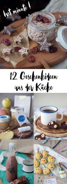 12 last minute Geschenkideen aus der Küche - schnell gemacht und lecker #lastminuteweihnachtsgeschenke