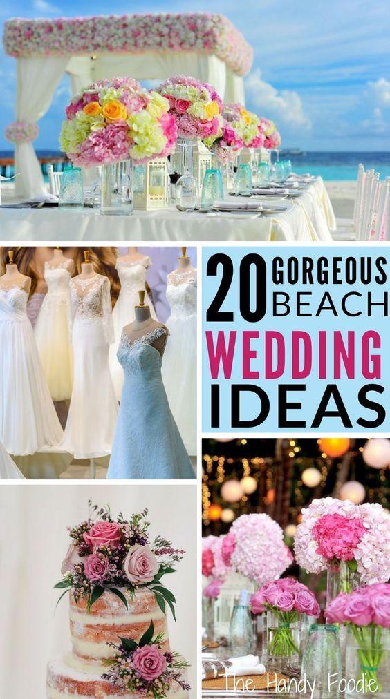 20 Gorgeous Beach Themed Wedding Ideas Wedding Ideas