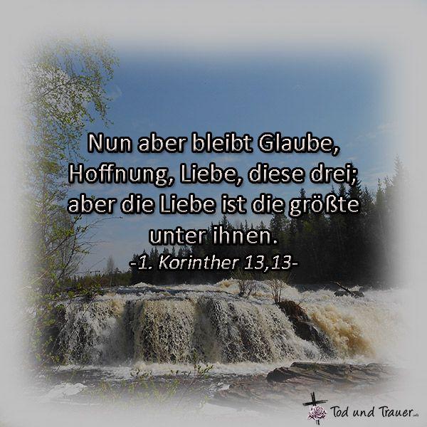 Bibelvers Trauerkarte