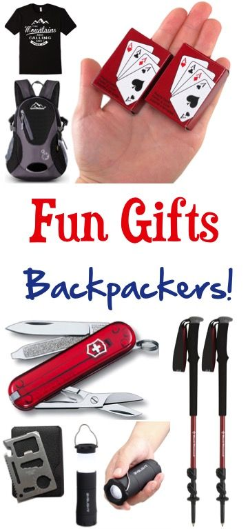 31 Fun Hiker Gifts! So many creative and unique gift ideas for the