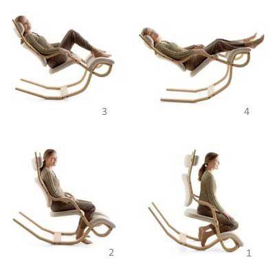sedia ergonomica gravity le 4 posizioni nel 2019 | Sedia ...
