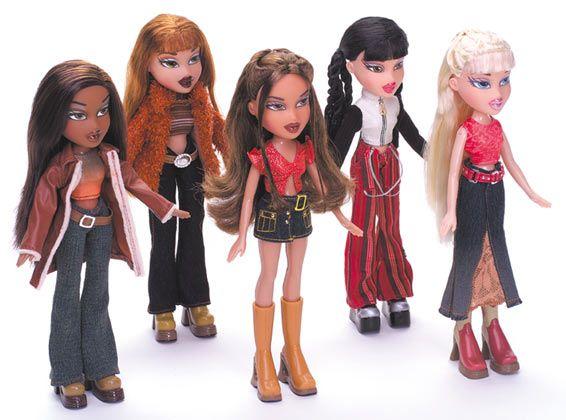BRATZ dolls bambole Cloe Jade Sasha Nevra
