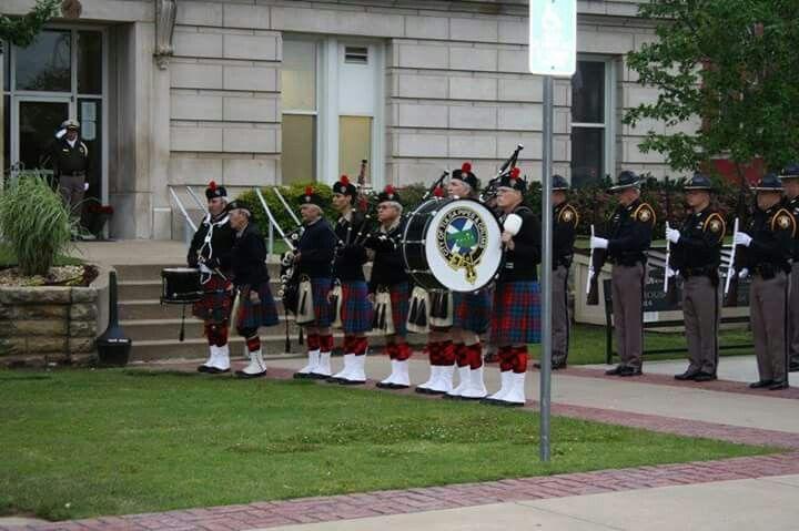 2016 Police week Law Enforcement Memorial. Sapulpa, Oklahoma