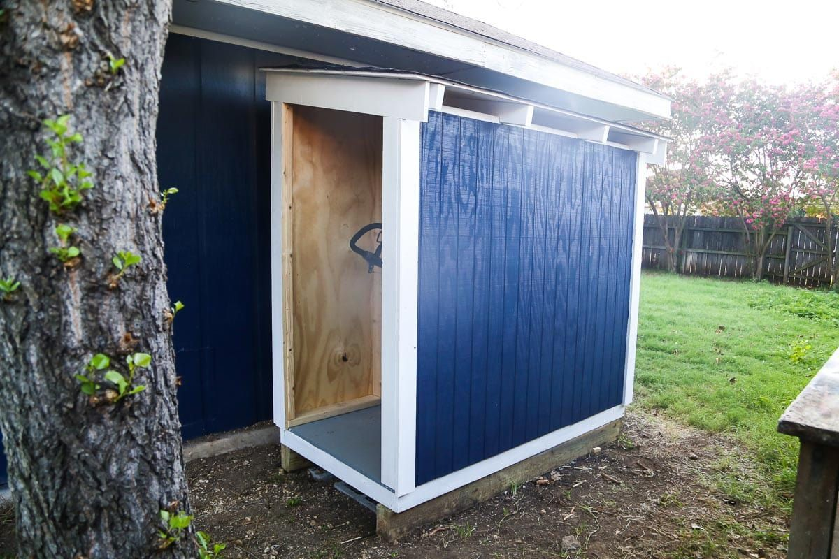 How To Build A Diy Lawn Mower Shed