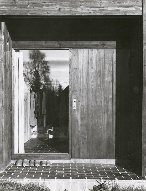 Teigens Fotoatelier (Fotograf), Jens og Wenche Selmers eget hus. Ca. 1964