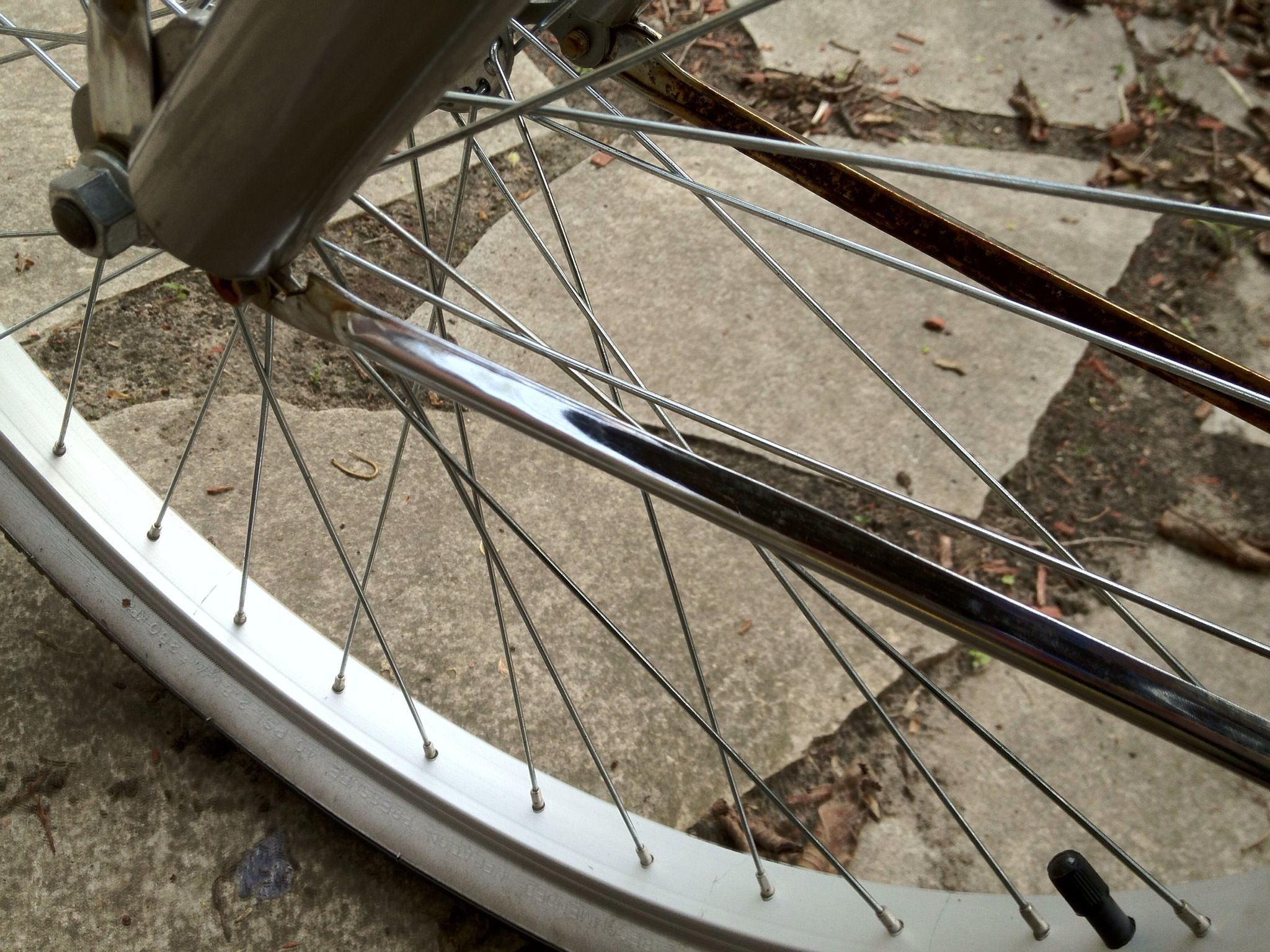 How To Clean Surface Rust From Bike Chrome Recipe How To Clean