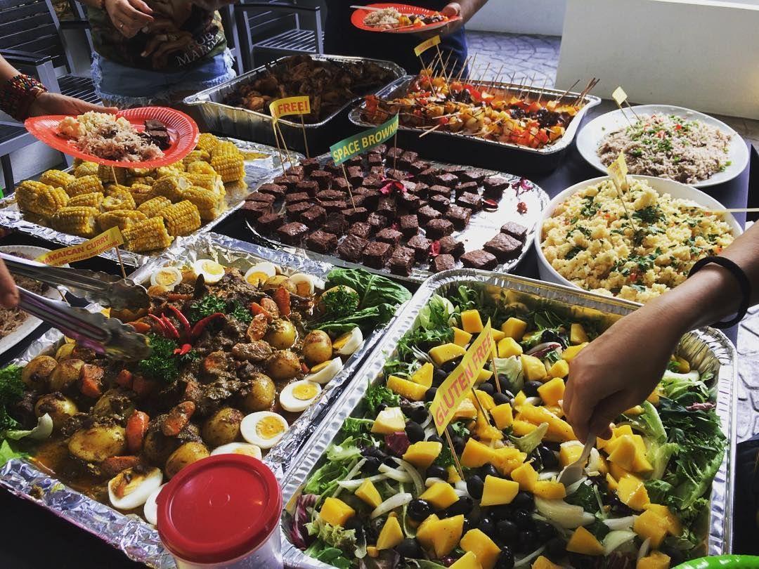 Jamaican food! Reggae Theme Birthday Party! #juins # ...