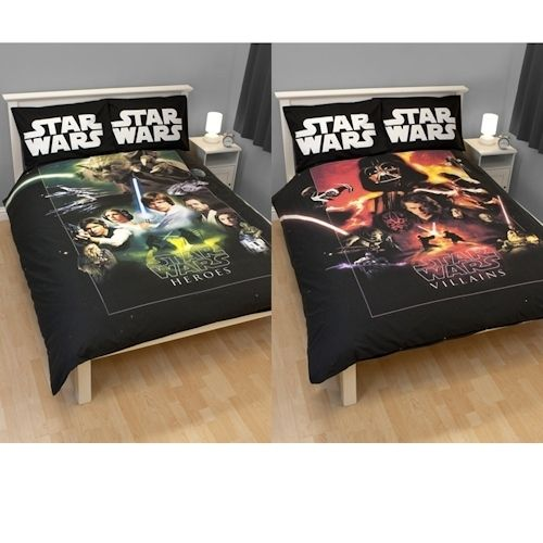 Star Wars Saga Double Reversible Panel Duvet Cover Set Ebay