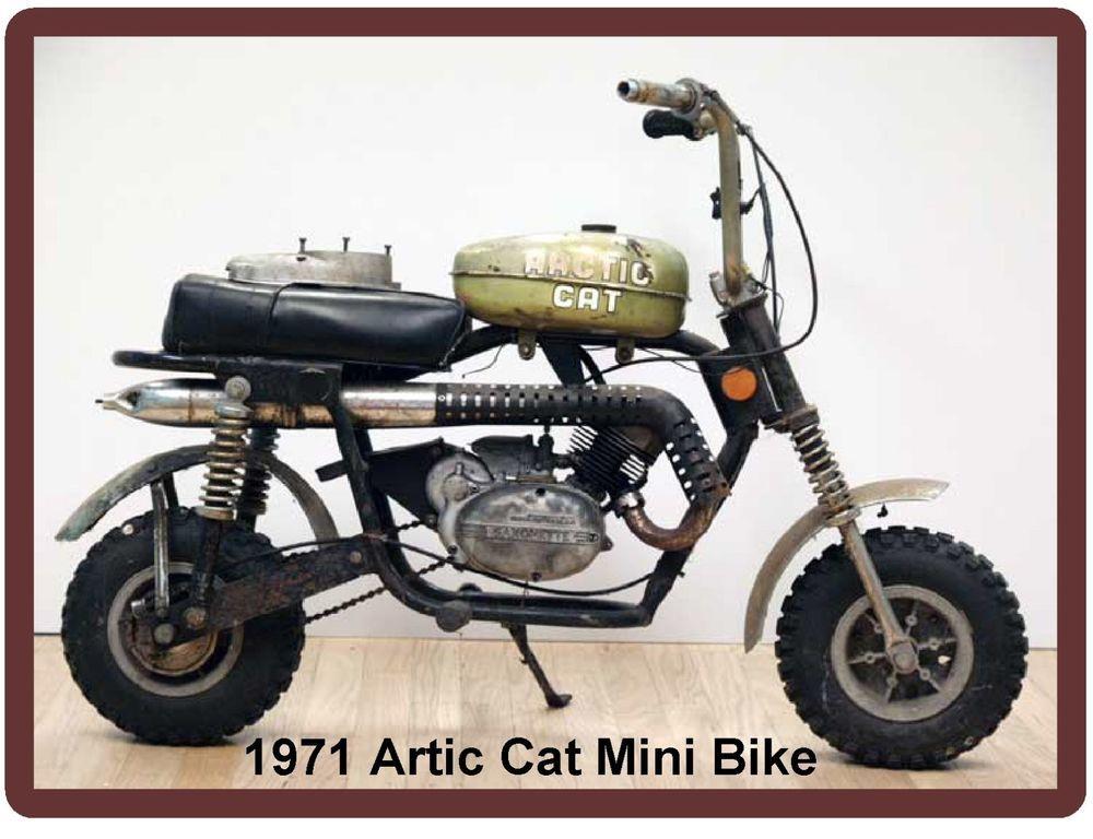 1971 Artic Cat Mini Bike Refrigerator Tool Magnet Mini Bike Bike Mini