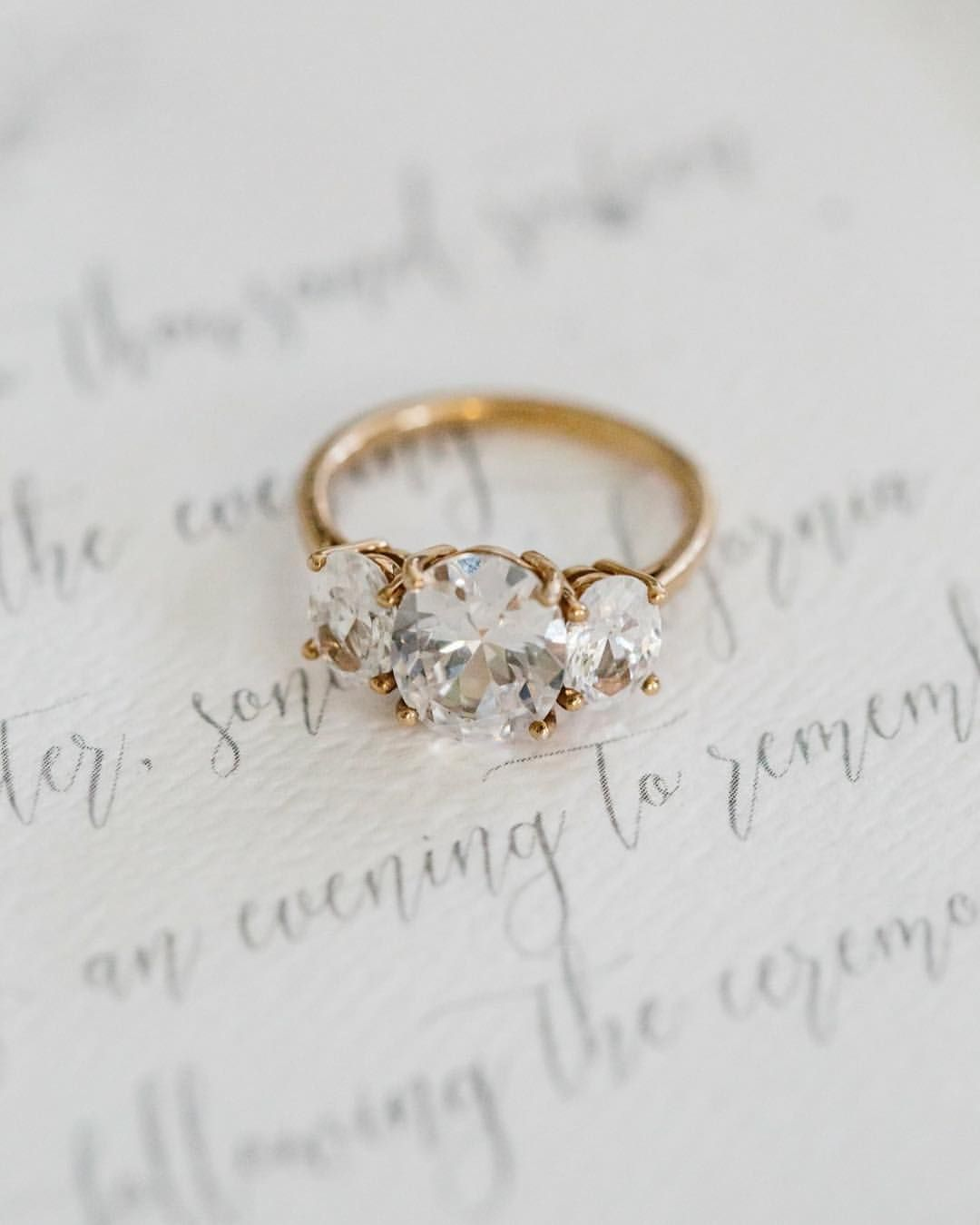 Stone Diamond Engagement Rings