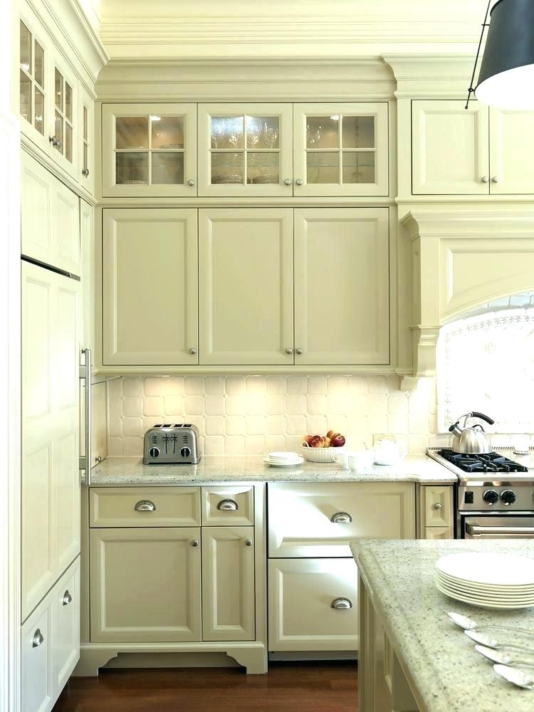 Glass For Kitchen Cabinets, Tall Kitchen Cabinets With Glass Doors