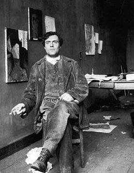 Image issue du site Web https://upload.wikimedia.org/wikipedia/commons/6/60/Amedeo_Modigliani_Photo.jpg