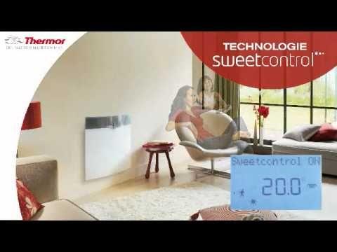 Le radiateur électrique à chaleur douce Hypnose de Thermor allie à - Porte Serviette Chauffant Leroy Merlin