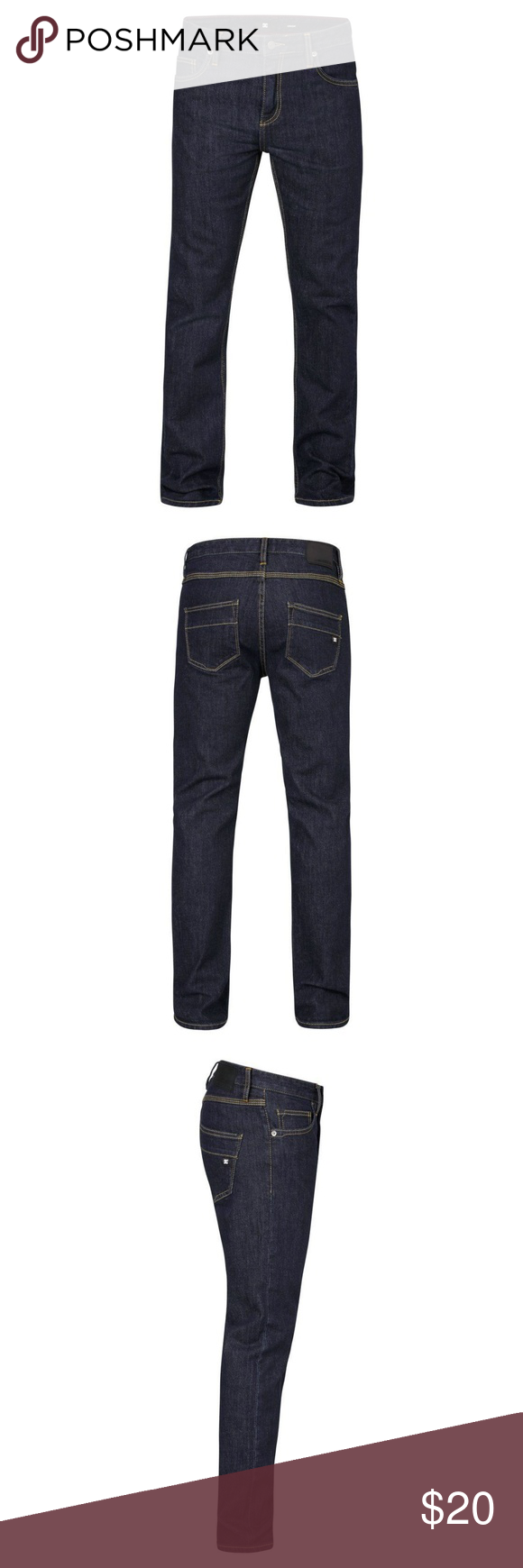 9312de3639877 DC Men s Worker Slim Length Indigo Rinse Jeans For all reasons and seasons