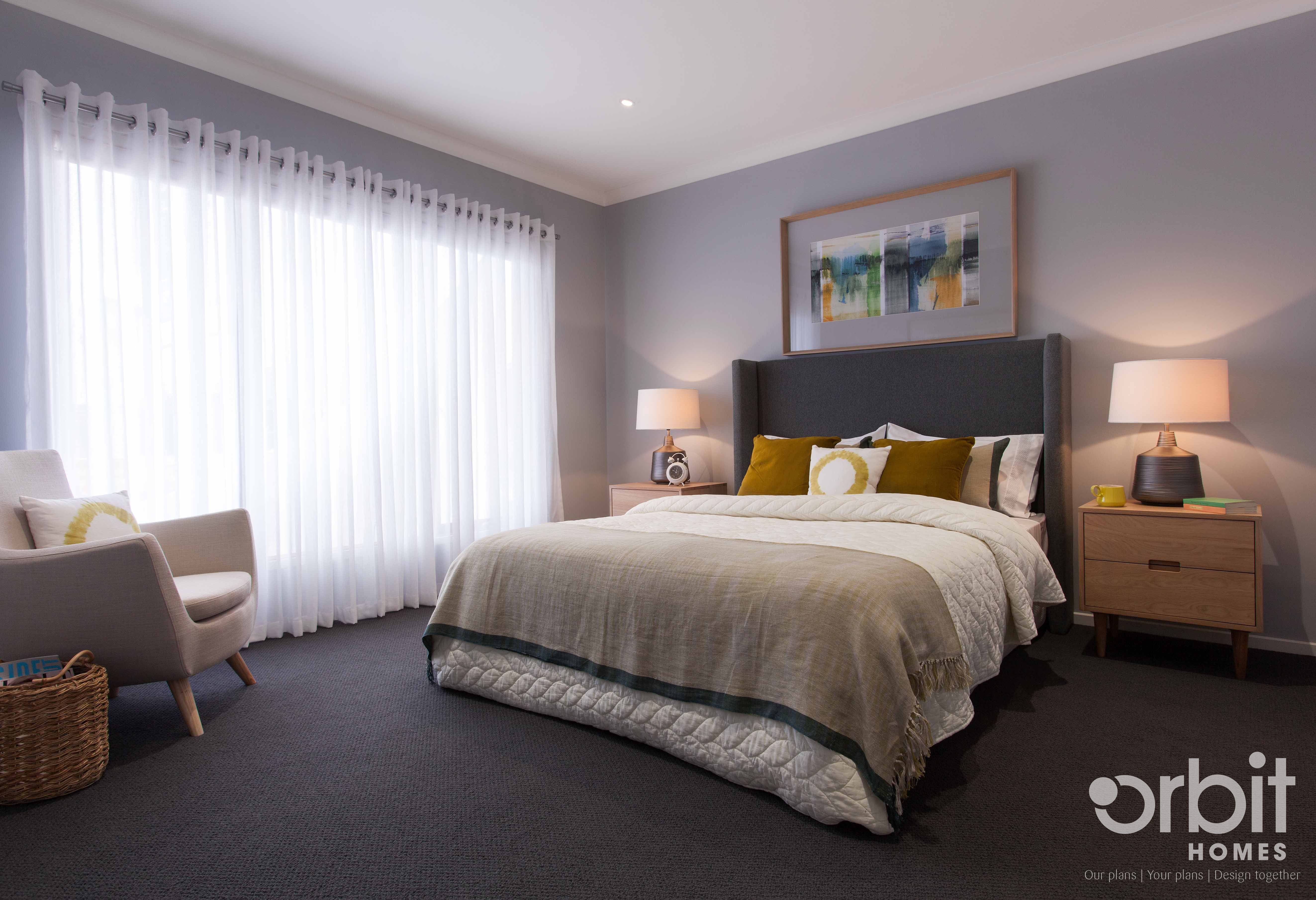 Orbit homes home builders - Orbit Homes Heathmont 227 Master Bedroom Parent Retreat The Spacious Master Bedroom