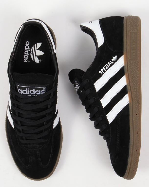 herramienta Piscina escalera mecánica  Adidas Spezial Trainers Black/White | Sneakers fashion, Stylish sneakers,  Sneakers men fashion