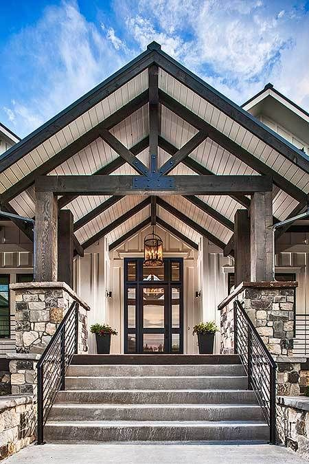 Photo of Plan 95028RW: Rockin' Mountain Home with Climbing and Exercise Rooms