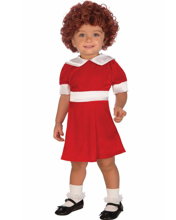 Annie Girls Toddler Costume. For a kid\'s dress up party or for ...