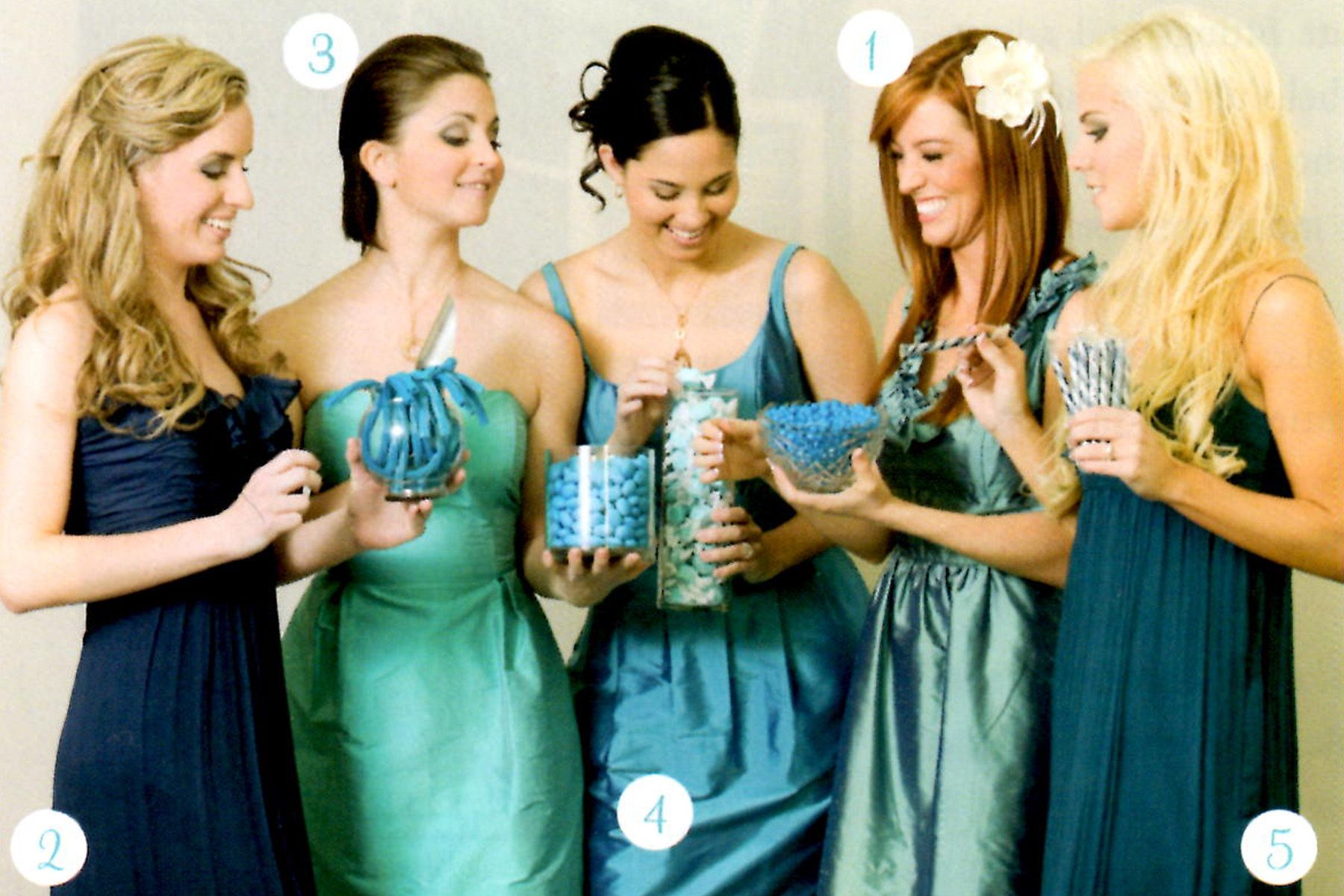 Dresses for wedding maids  like this color combo for bridesmaids as alternative to nudes  Love