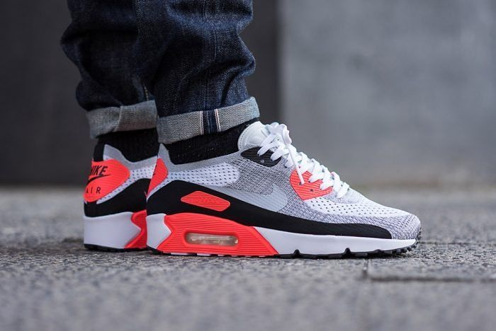 new concept b0ab3 a1482 Nike Air Max 90 x Ultra Flyknit Infrared