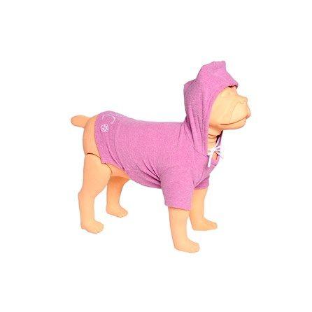 Blusa com Capuz Lilás Bichinho Chic MeuAmigoPet.com.br #petshop #cachorro #cão #meuamigopet