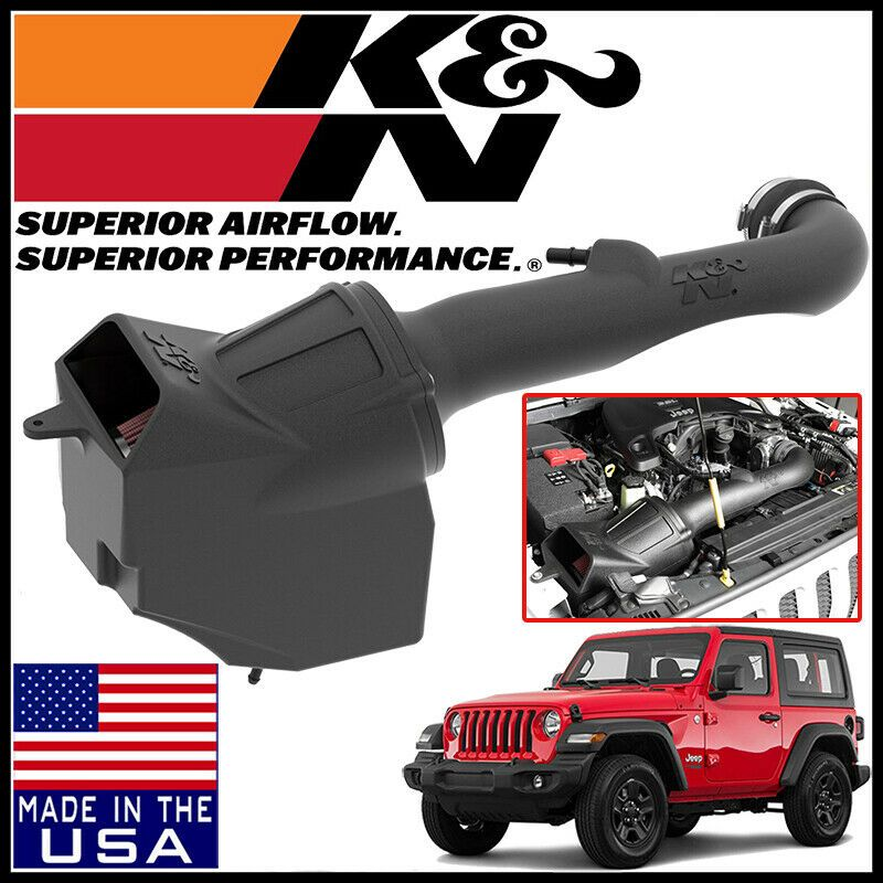 Details About K N Aircharger Cold Air Intake System Fits 2018 2020