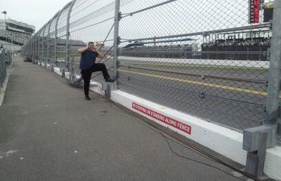 All work and no play is no good! It was worth it to stand that close. ;-)    #Daytona International Speedway  #GOA2013