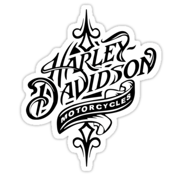 Harley davidson logo beautiful harley davidson logo all black logo stickers by daeryk
