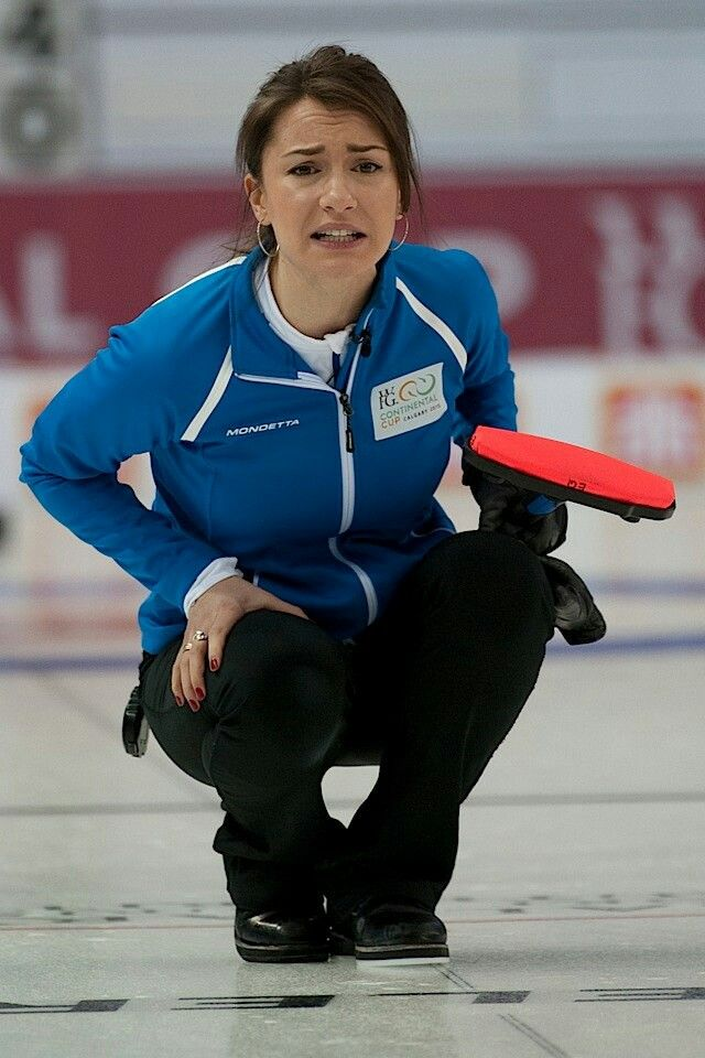 Anna Sidorova - Russia -Curling   Anna Sidorova   Female ...