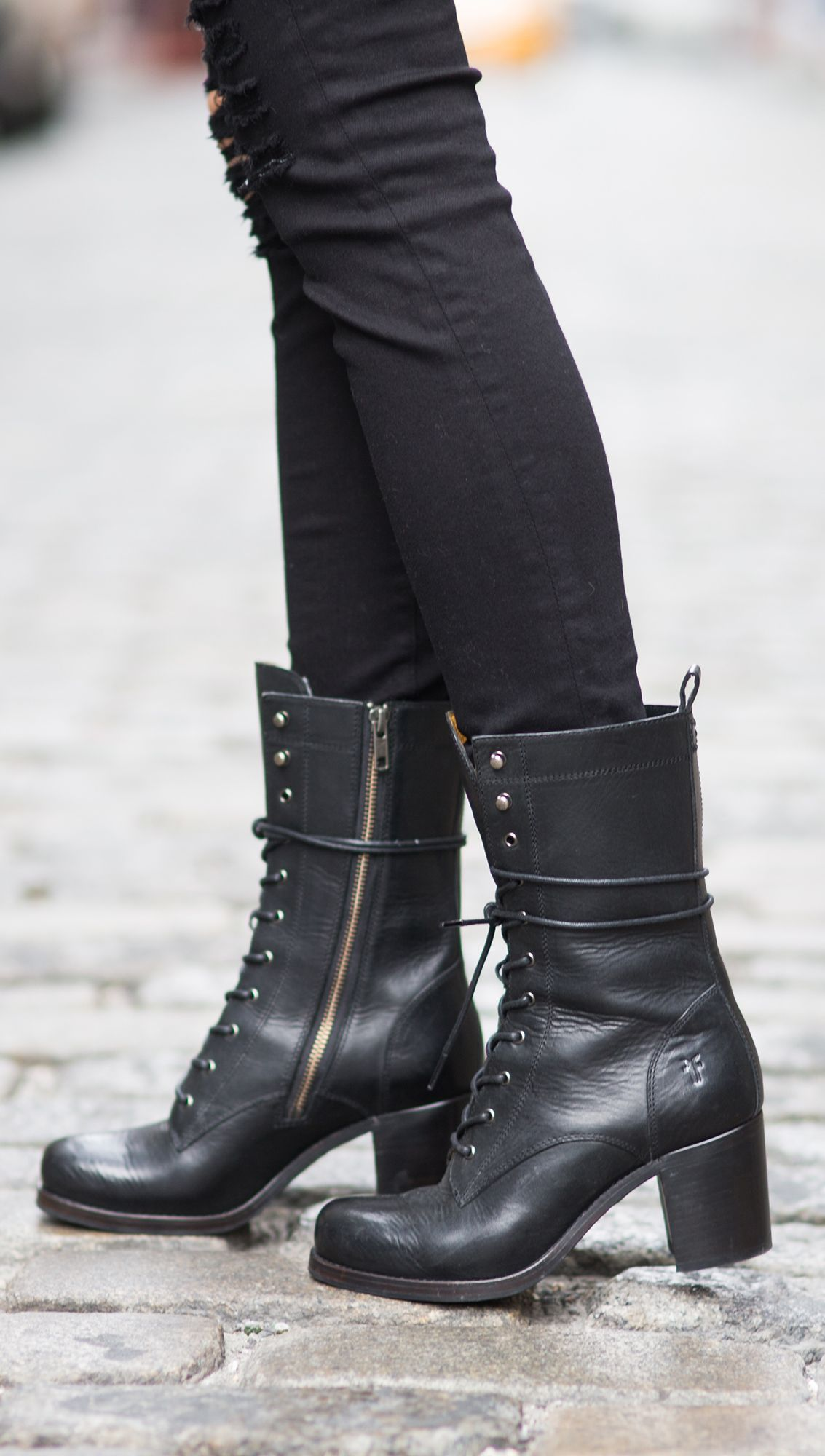 8e3de363ea3a Kendall Lace Up Boots