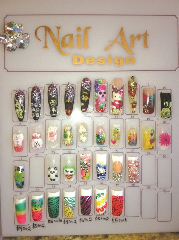 Show Us Yourclever Nail Art Displays Nail Art To Do List