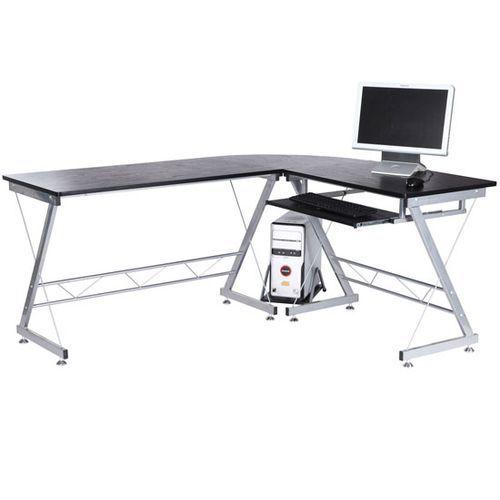 Bureau D Angle Bureau Informatique Design Contemporain Metal Mdf