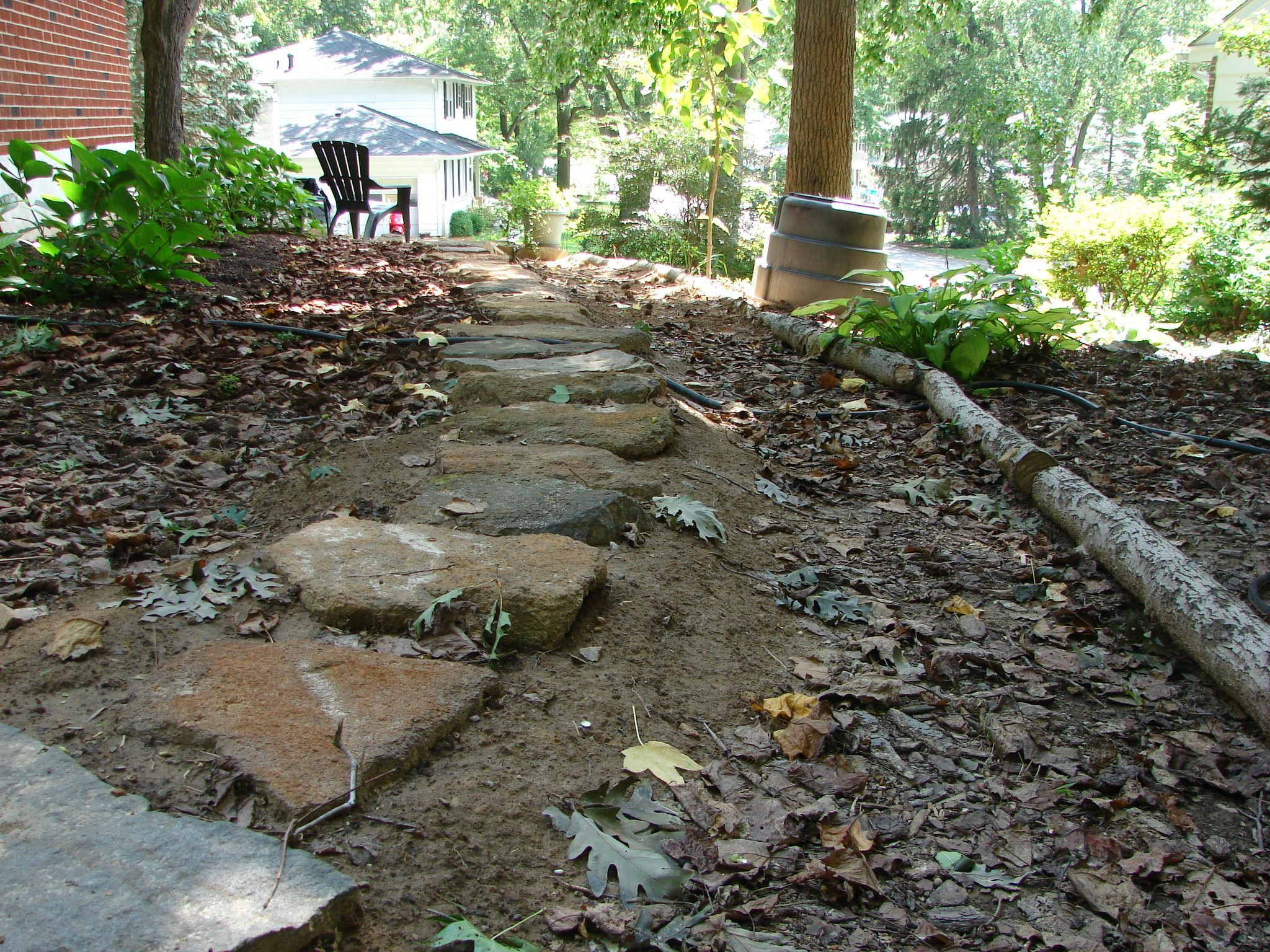 Bare Spots In Your Landscaping Pay Attention Having Bare Soil On Your Property Will Cause Erosio Mulch Landscaping Cool Landscapes Outdoor Garden Furniture